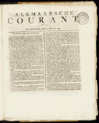 Alkmaarsche Courant 1814-03-21