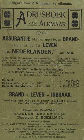 Adresboek van Alkmaar 1903-01-01