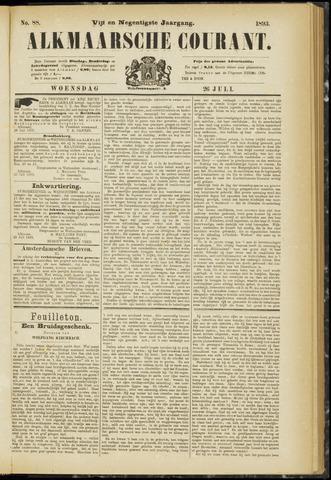 Alkmaarsche Courant 1893-07-26