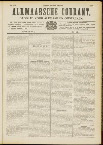 Alkmaarsche Courant 1909-07-28
