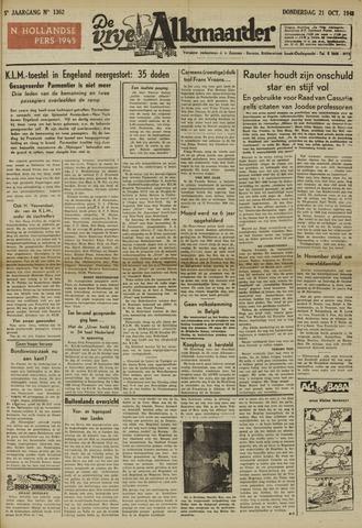 De Vrije Alkmaarder 1948-10-21