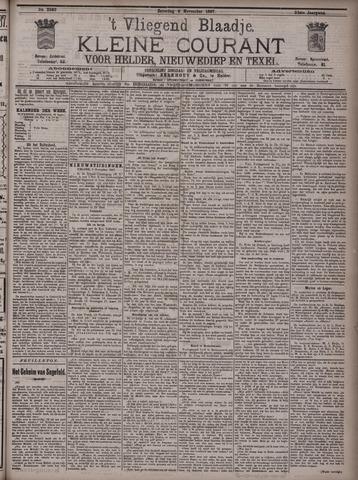 Vliegend blaadje : nieuws- en advertentiebode voor Den Helder 1897-11-06