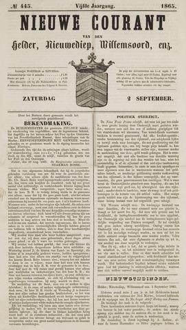 Nieuwe Courant van Den Helder 1865-09-02