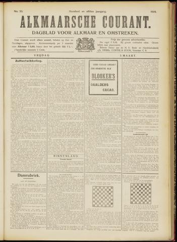 Alkmaarsche Courant 1909-03-05
