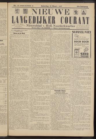 Nieuwe Langedijker Courant 1927-03-19