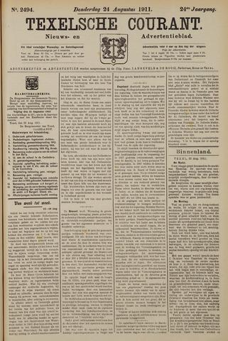 Texelsche Courant 1911-08-24