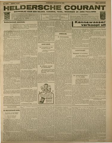 Heldersche Courant 1931-08-06