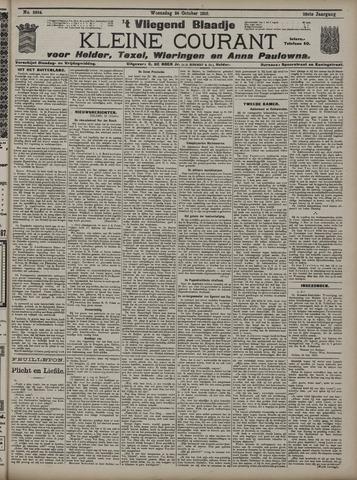 Vliegend blaadje : nieuws- en advertentiebode voor Den Helder 1910-10-26