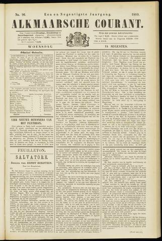 Alkmaarsche Courant 1889-08-14