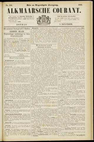 Alkmaarsche Courant 1891-11-08