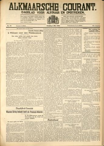 Alkmaarsche Courant 1934-05-04