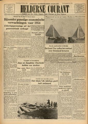 Heldersche Courant 1954-02-18