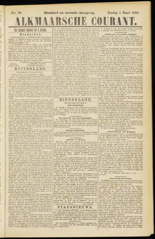 Alkmaarsche Courant 1905-03-05