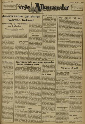 De Vrije Alkmaarder 1947-03-22