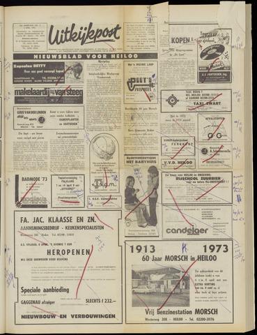 Uitkijkpost : nieuwsblad voor Heiloo e.o. 1973-04-04