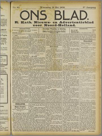 Ons Blad : katholiek nieuwsblad voor N-H 1909-05-19