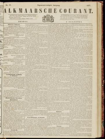 Alkmaarsche Courant 1877-08-05