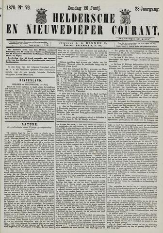 Heldersche en Nieuwedieper Courant 1870-06-26