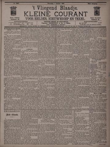 Vliegend blaadje : nieuws- en advertentiebode voor Den Helder 1896-10-07