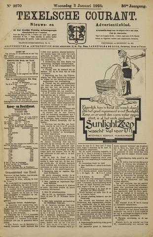 Texelsche Courant 1923-01-03