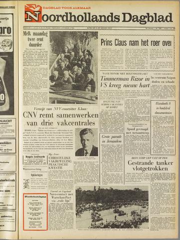 Noordhollands Dagblad : dagblad voor Alkmaar en omgeving 1968-05-03