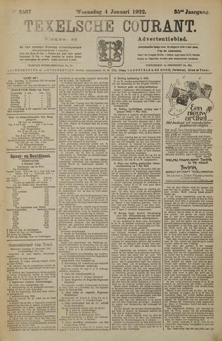 Texelsche Courant 1922