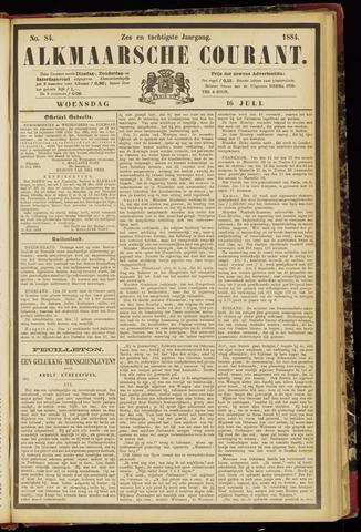 Alkmaarsche Courant 1884-07-16