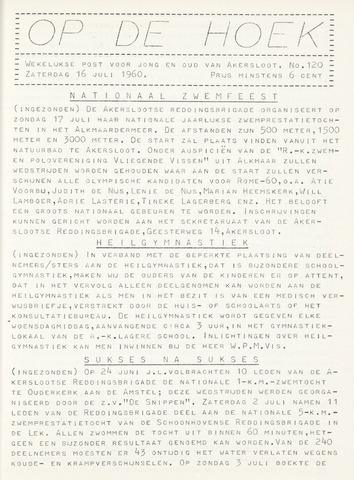 Op De Hoek, weekblad voor Akersloot 1960-07-16