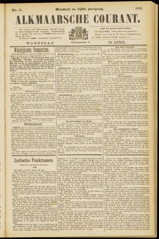 Alkmaarsche Courant 1903-04-29