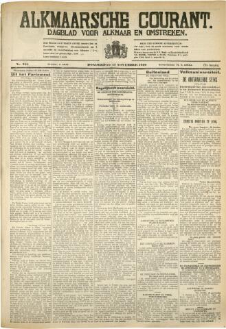 Alkmaarsche Courant 1930-11-13