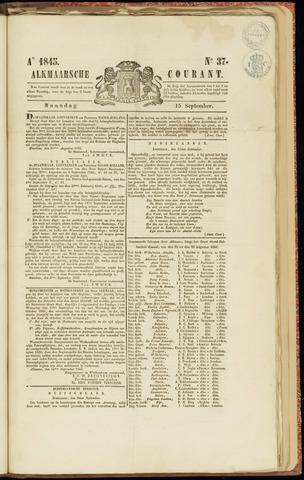 Alkmaarsche Courant 1845-09-15