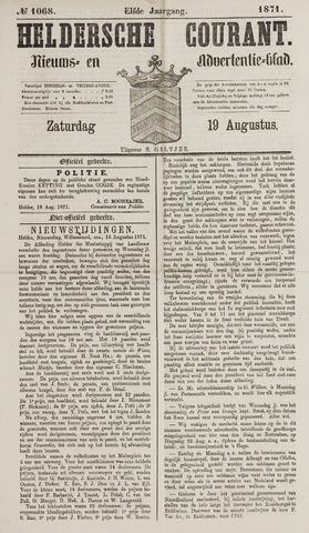 Heldersche Courant 1871-08-19
