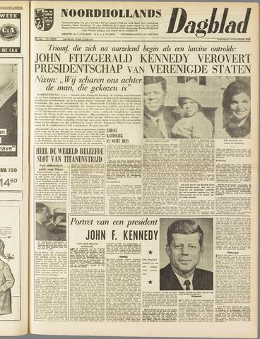 Noordhollands Dagblad : dagblad voor Alkmaar en omgeving 1960-11-09