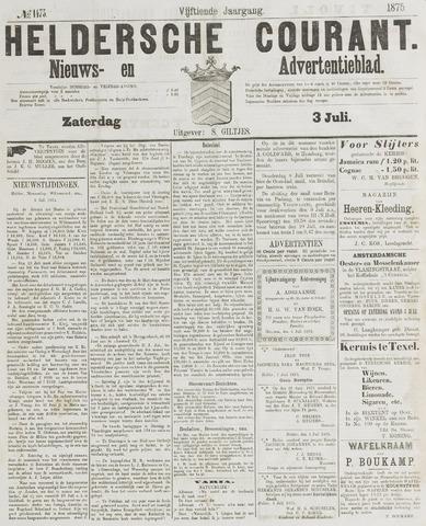 Heldersche Courant 1875-07-03