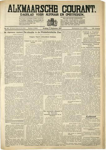 Alkmaarsche Courant 1937-09-17