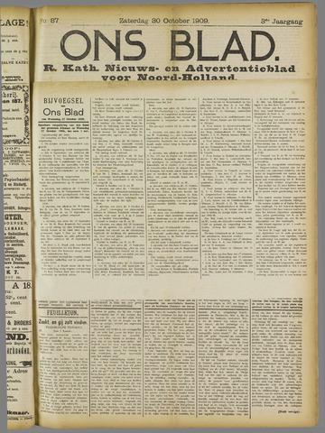 Ons Blad : katholiek nieuwsblad voor N-H 1909-10-30