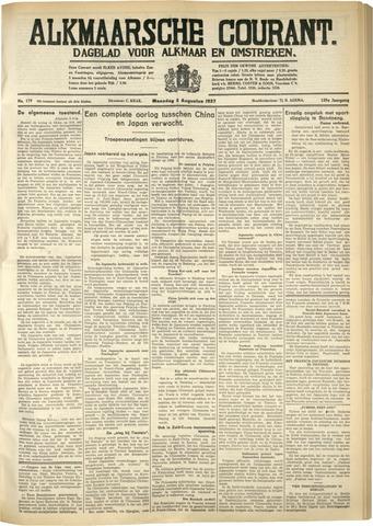 Alkmaarsche Courant 1937-08-02