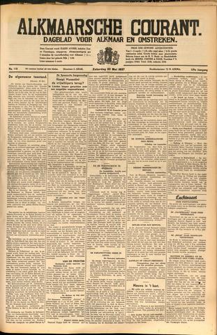 Alkmaarsche Courant 1937-05-22