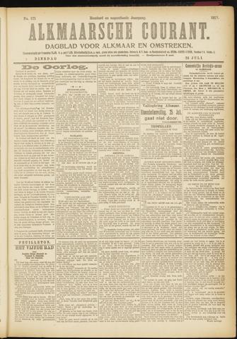 Alkmaarsche Courant 1917-07-24