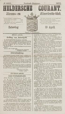 Heldersche Courant 1873-04-19