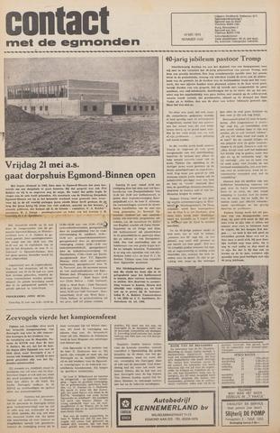 Contact met de Egmonden 1976-05-19