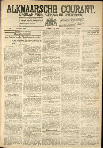 Alkmaarsche Courant 1933-07-07