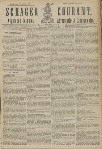 Schager Courant 1911-01-19
