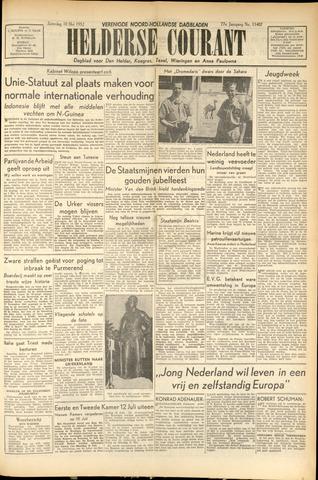 Heldersche Courant 1952-05-10