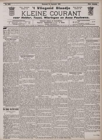 Vliegend blaadje : nieuws- en advertentiebode voor Den Helder 1902-09-24