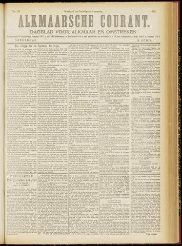 Alkmaarsche Courant 1918-04-18