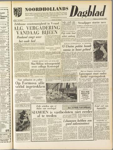 Noordhollands Dagblad : dagblad voor Alkmaar en omgeving 1958-08-08