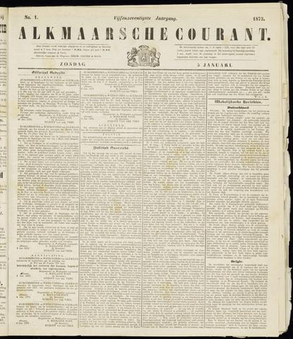 Alkmaarsche Courant 1873-01-05