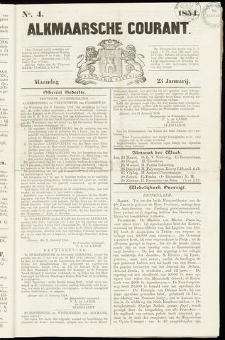Alkmaarsche Courant 1854-01-23