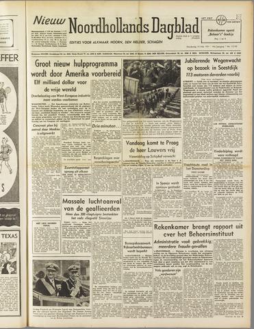 Nieuw Noordhollandsch Dagblad : voor Alkmaar en omgeving 1951-05-10
